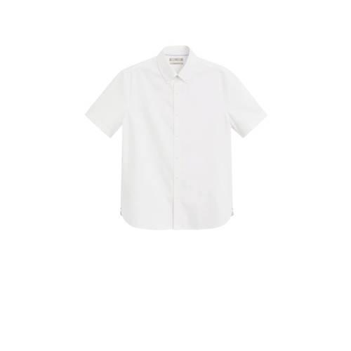 Mango Man regular fit overhemd wit