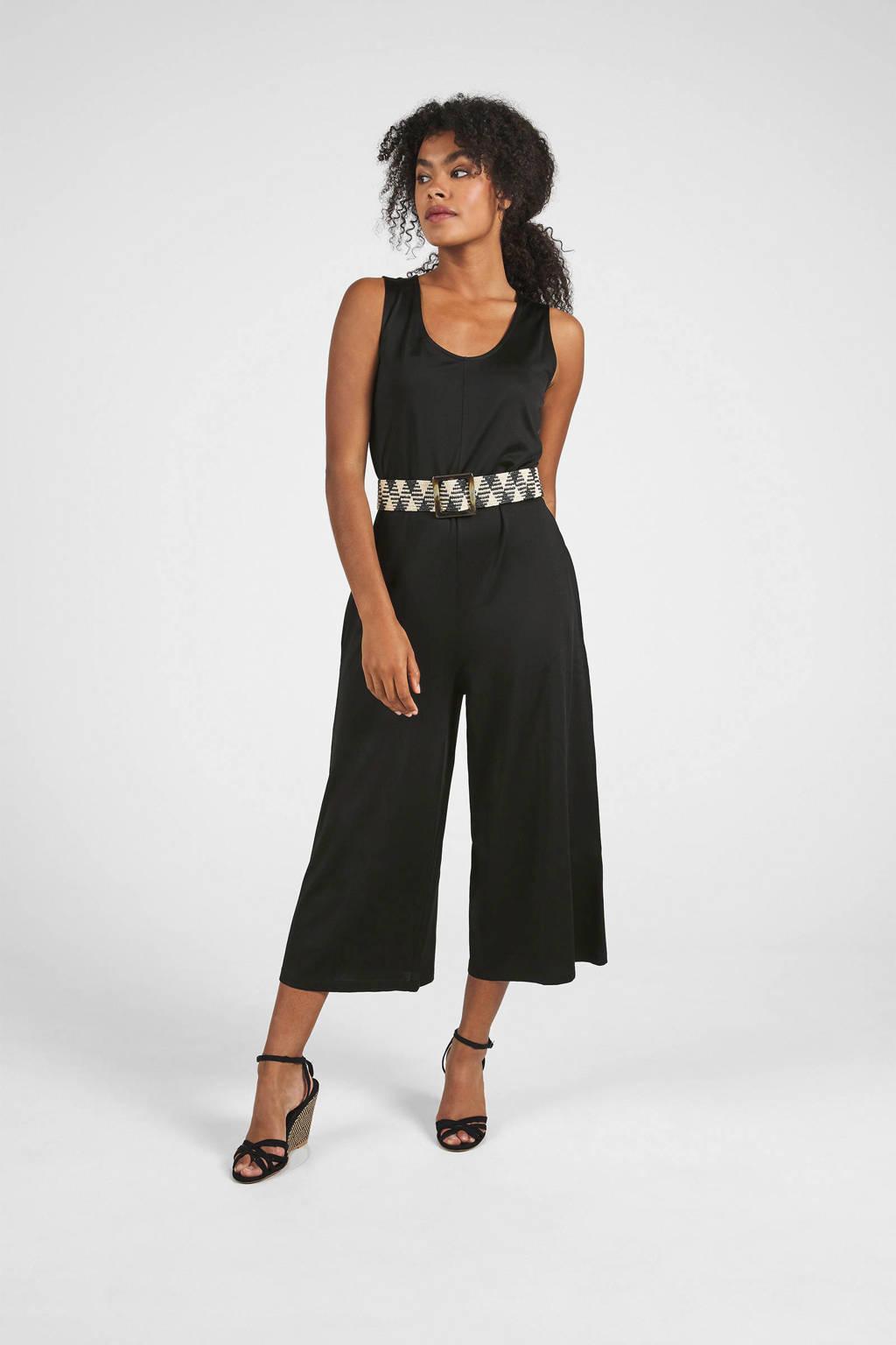 Expresso jumpsuit zwart, Zwart