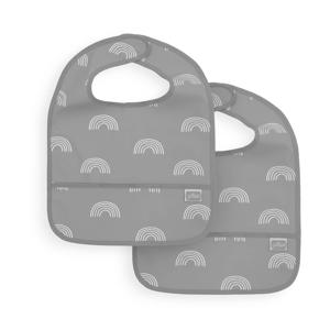 slab waterproof  - set van 2 - rainbow grey