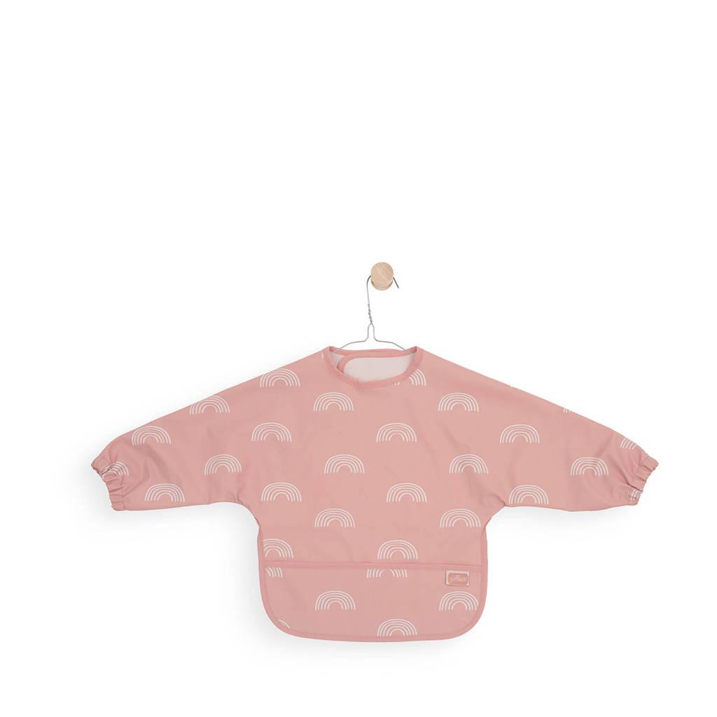 Jollein mouwslab waterproof rainbow blush pink, Blush pink