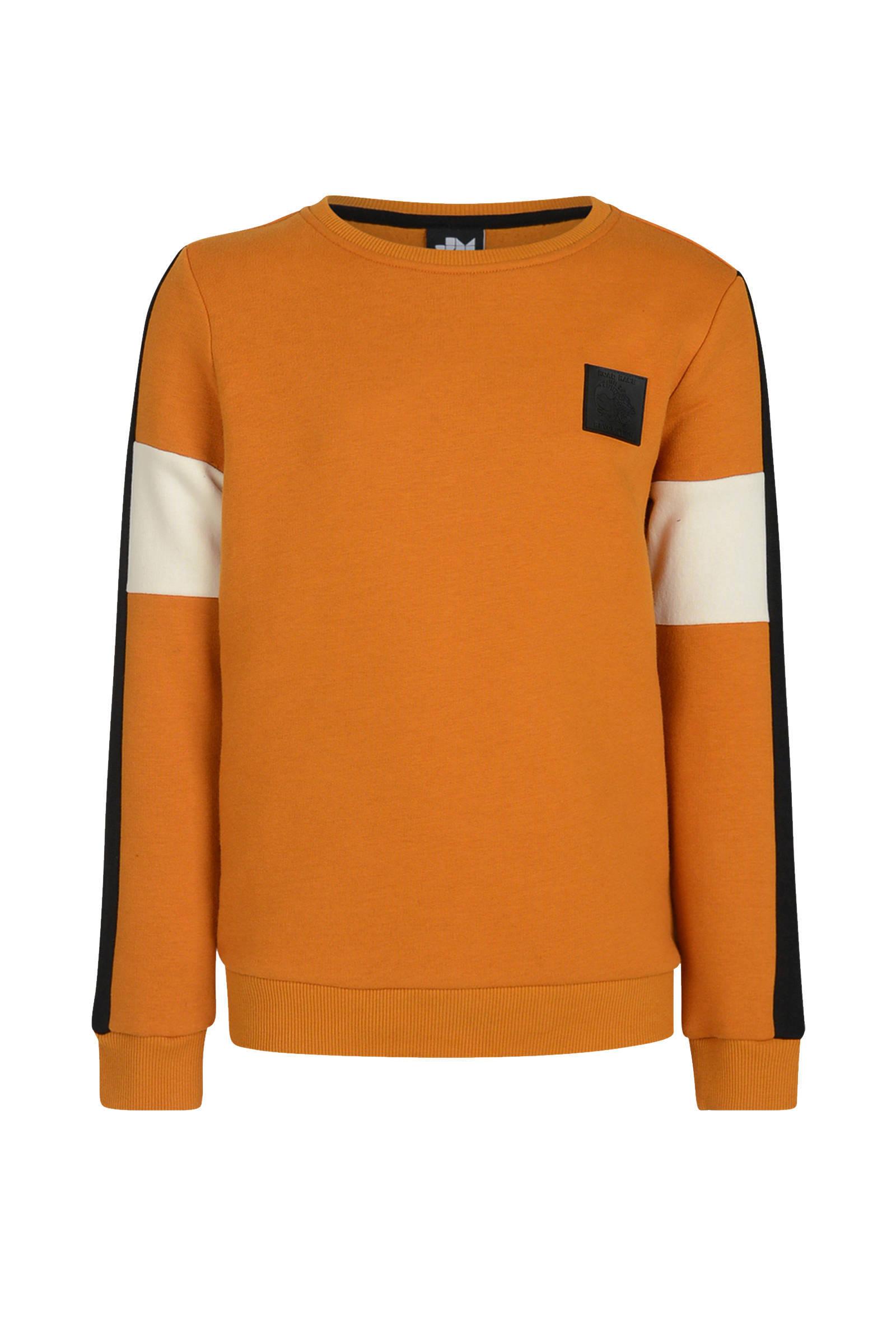 Jill & Mitch Aylin Trui Oranje Truien en sweaters Truien