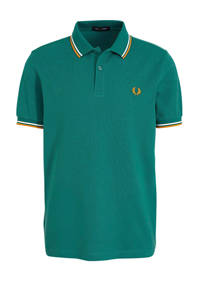 Fred Perry regular fit polo groen, Groen