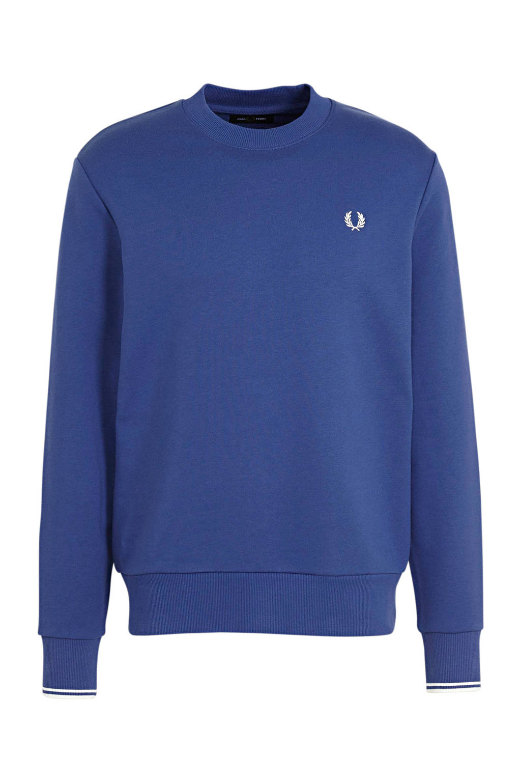 Fred Perry sweater blauw, Blauw