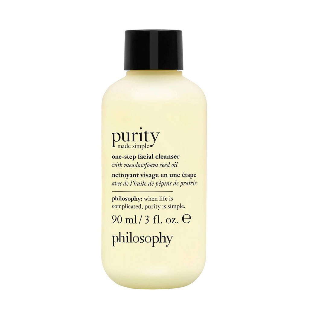 philosophy Purity Made Simple One Step For Face And Eyes reiniger - 90 ml
