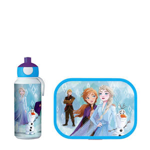 Campus lunchset Frozen 2  (lunchbox+pop-up fles)