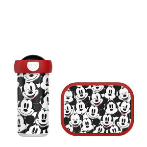 Campus lunchset Mickey Mouse (lunchbox+drinkbeker)