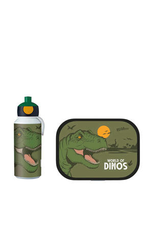 Campus lunchset Dino  (lunchbox+pop-up fles)
