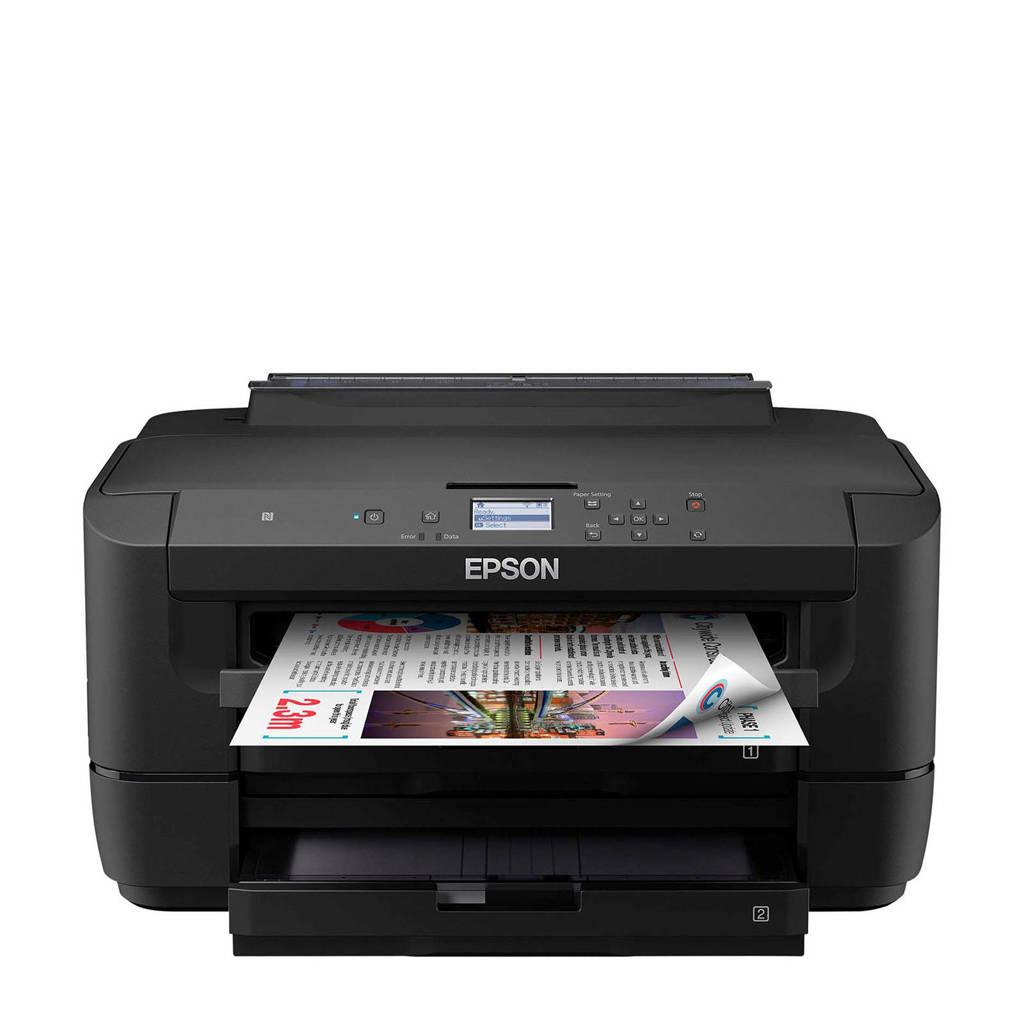 Epson WF-7210DTW inkjetprinter, Zwart