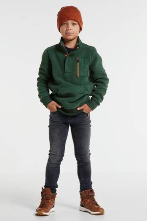 teddy sweater groen
