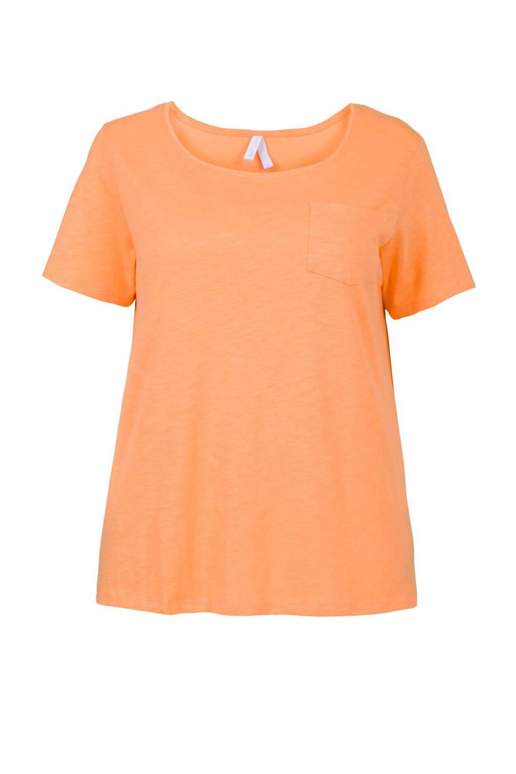 Miss Etam Plus T-shirt oranje, Oranje