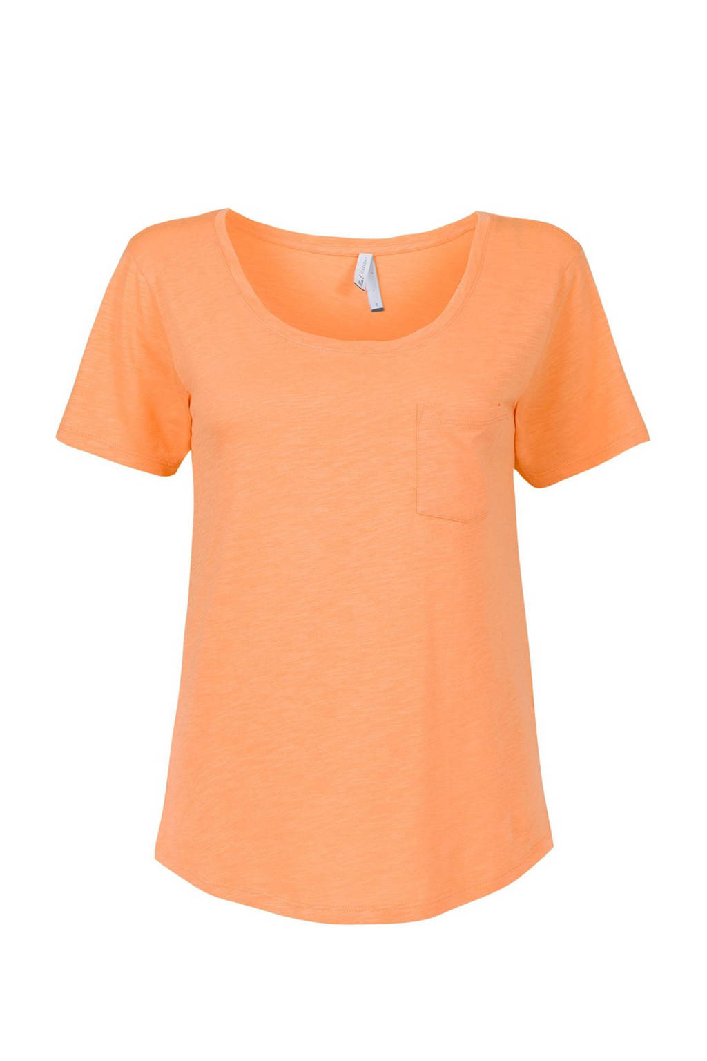 Miss Etam Regulier T-shirt oranje, Oranje