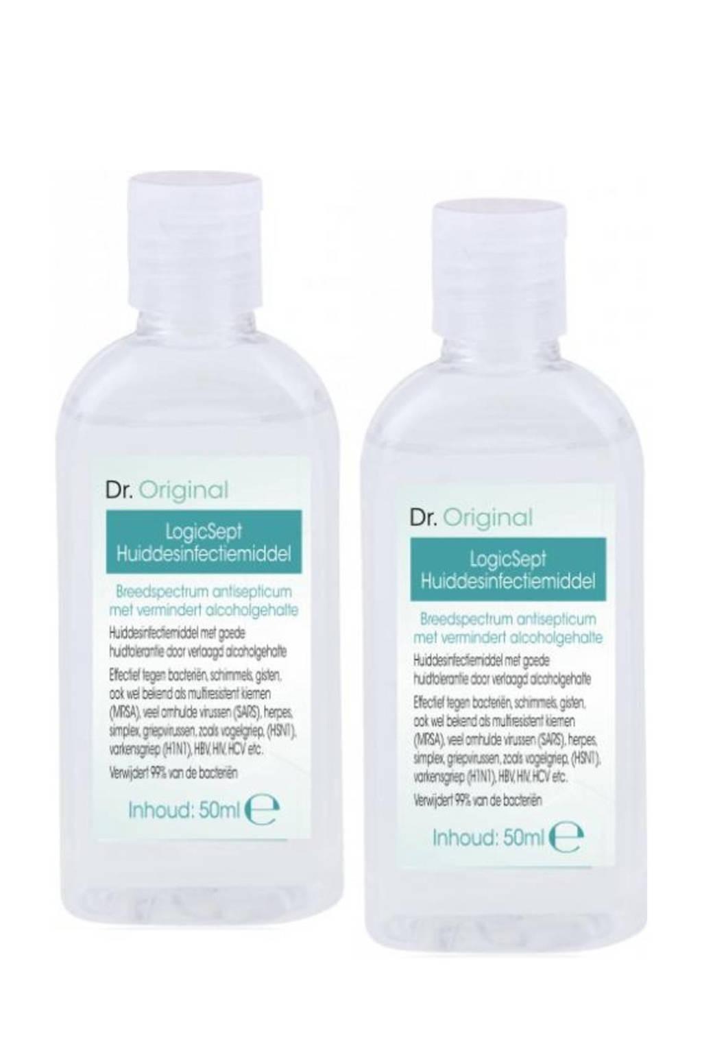 Dr. Original LogicSept Handdesinfectiemiddel - 50 ml duopack