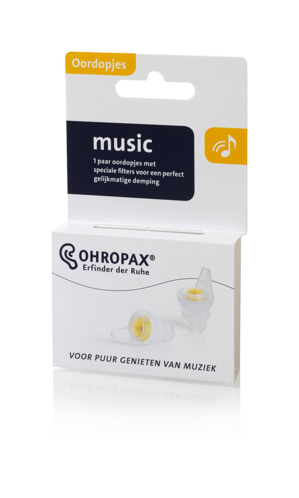 Ohropax Filter Music