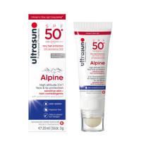 Ultrasun Alpine zonnebrand SPF50 - 20 ml + 3g