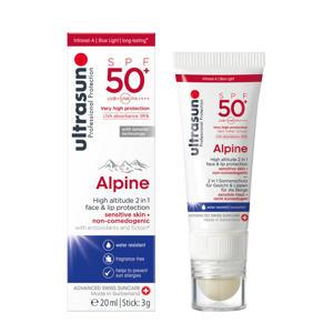 Alpine zonnebrand SPF50 - 20 ml + 3g