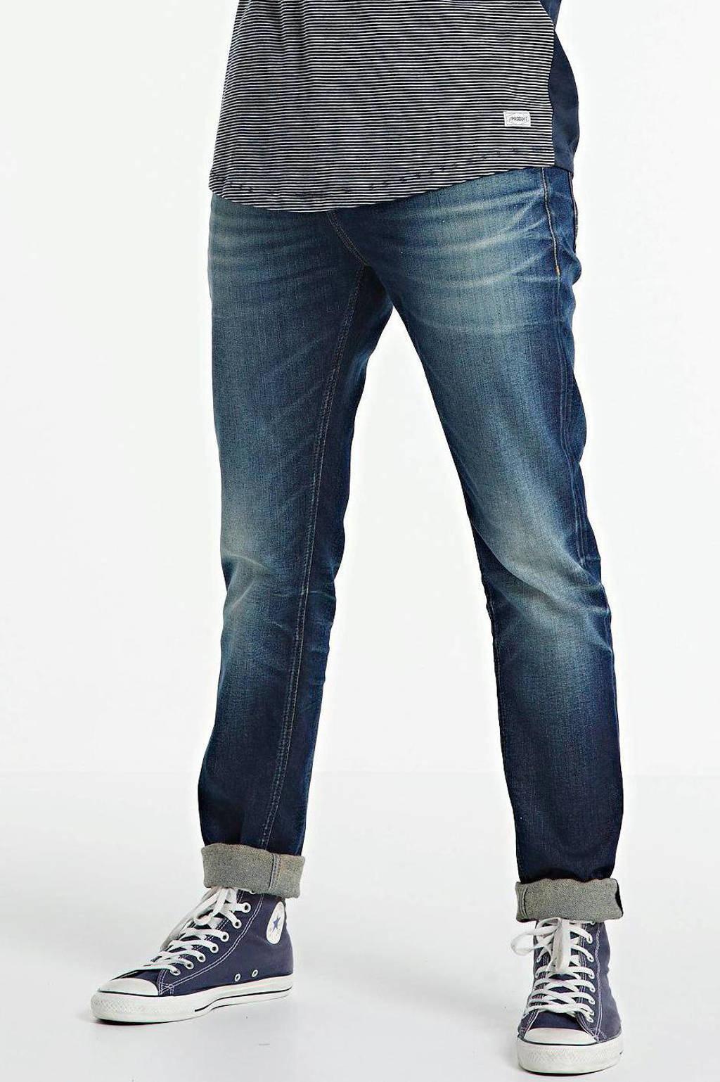 Cast Iron tapered fit jeans Korbin dark denim, Dark denim