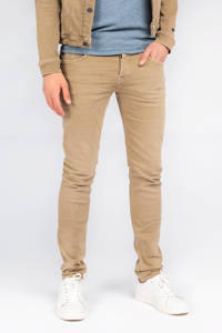Cast Iron slim fit jeans Riser beige, Beige