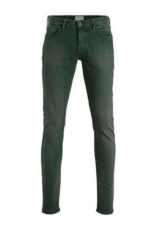 slim fit jeans Riser donkergroen