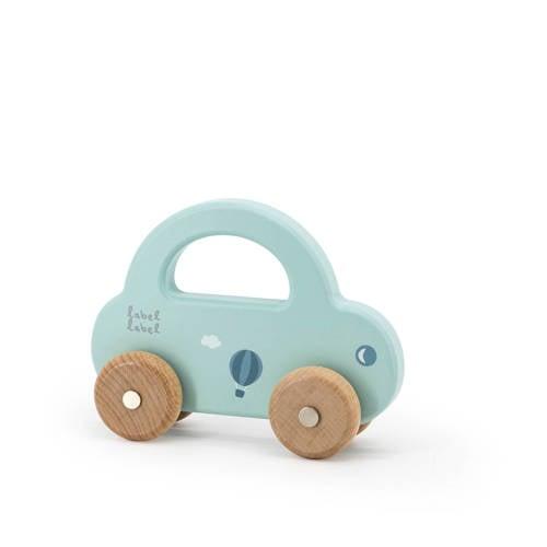 Label Label houten speelgoed auto