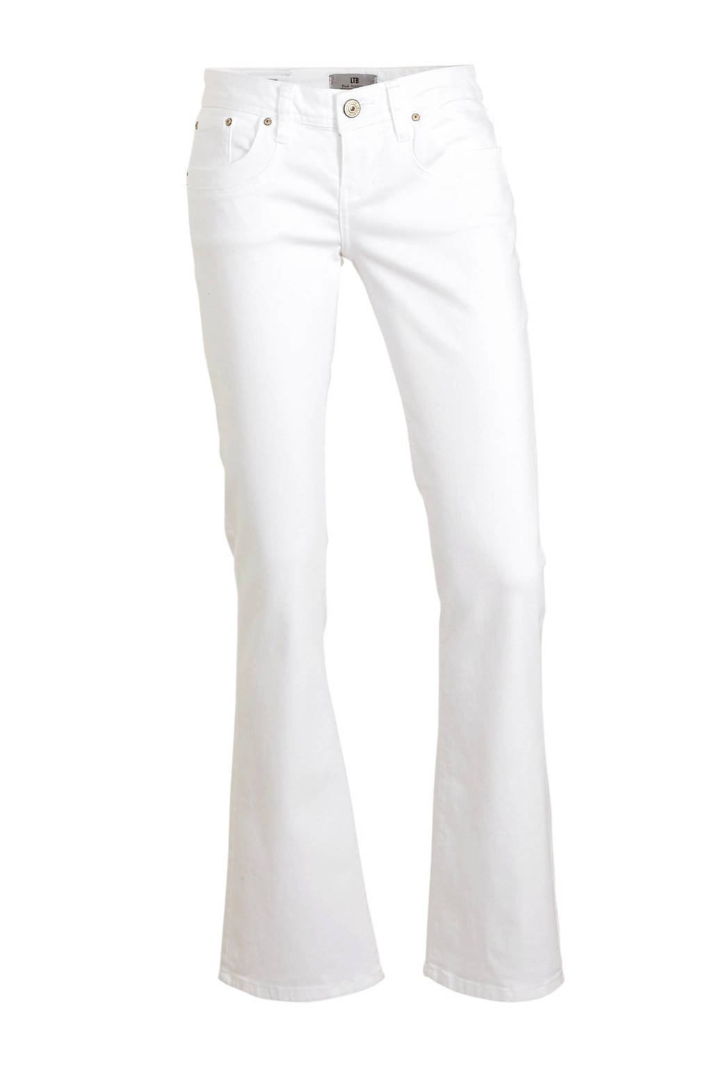 LTB low waist bootcut jeans Valerie wit, Wit