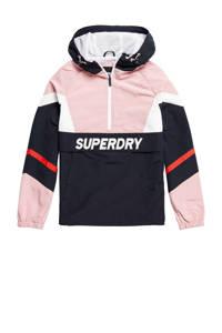 Superdry jack roze/wit, Roze/wit