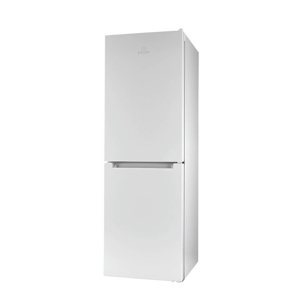 Indesit LR7 S2 W koel/vries combinatie, Wit