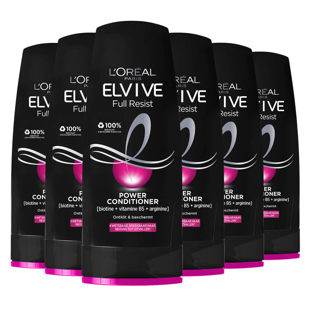 L'Oréal Paris Elvive Full Resist Power Conditioner 6 x 200ml