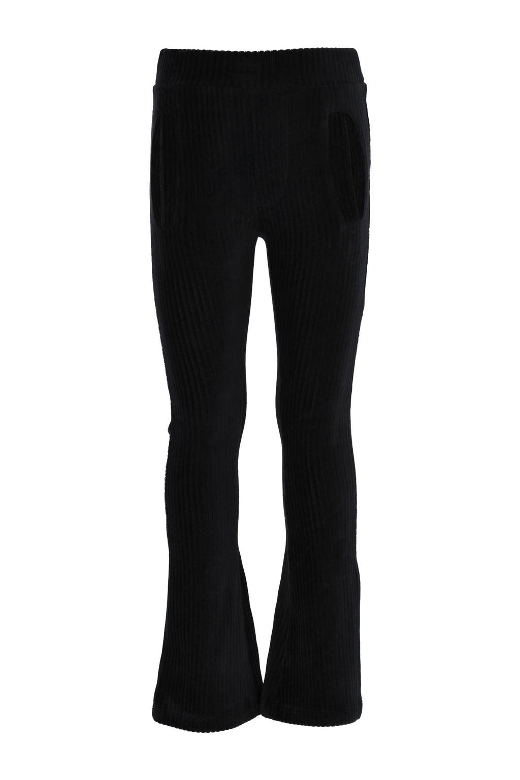 KIDDO corduroy flared broek Erna zwart, Zwart