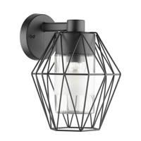 EGLO wandlamp Canove, Zwart