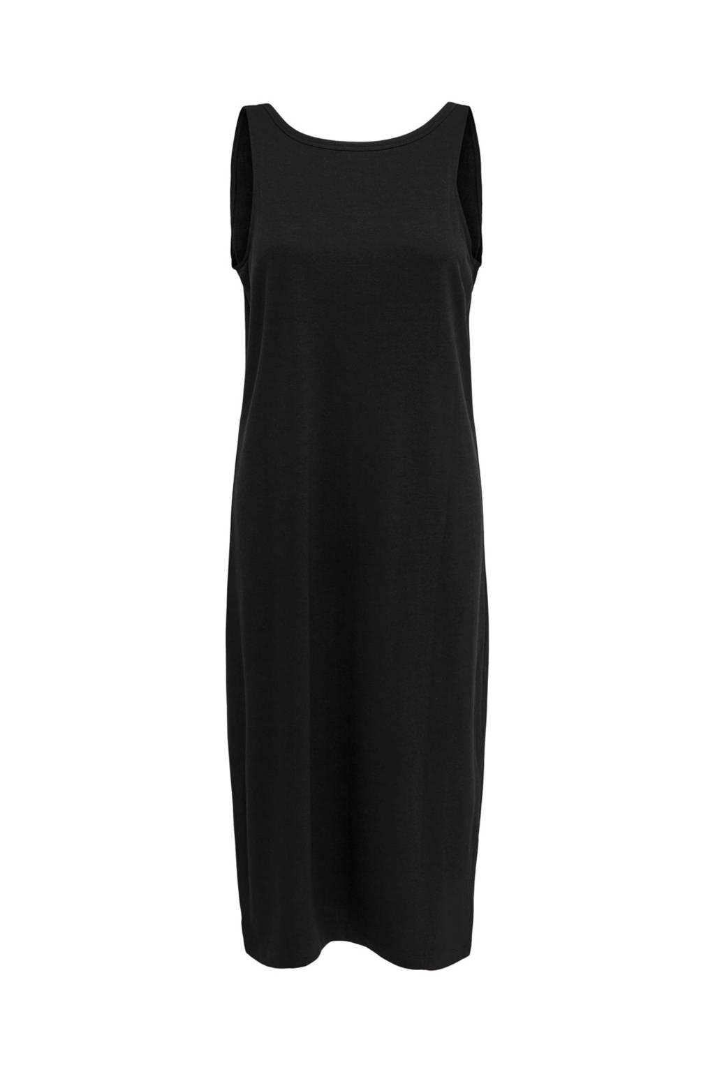 ONLY jersey jurk zwart, Zwart