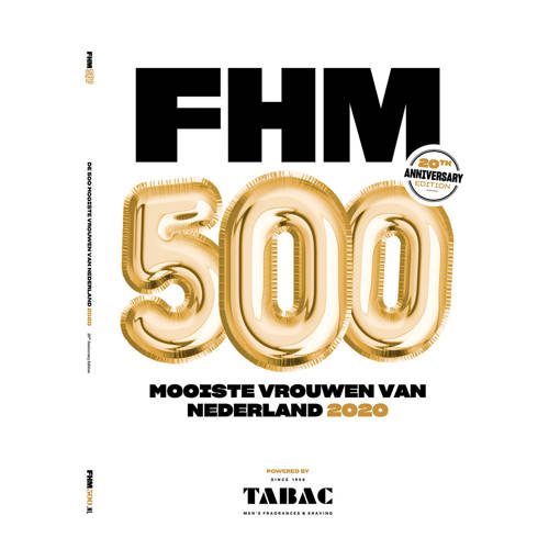 FHM500 magazine 2020 editie - alleen verkrijgbaar i.c.m. actie