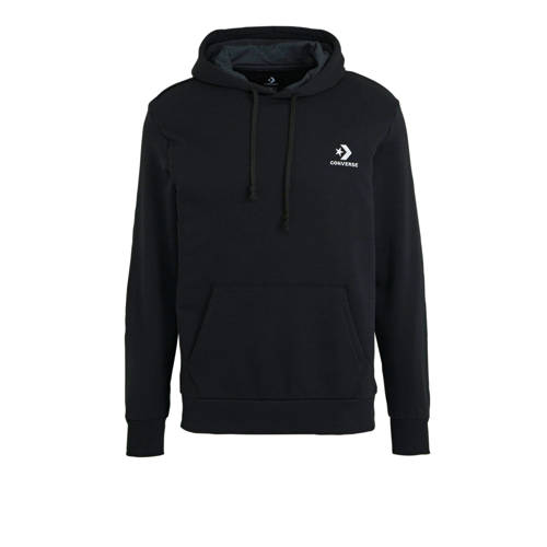 Converse hoodie zwart
