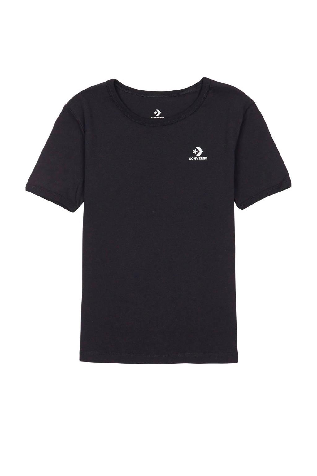 Converse T-shirt zwart, Zwart