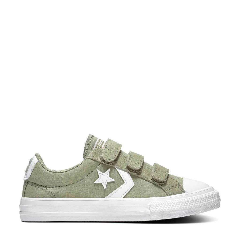 Converse Star Player 3V OX sneakers kiki/wit, kaki/wit