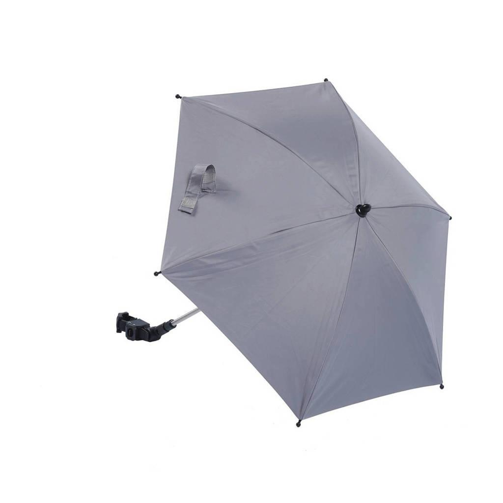Titaniumbaby kinderwagen parasol met UV 50+ protectie, Midden grijs