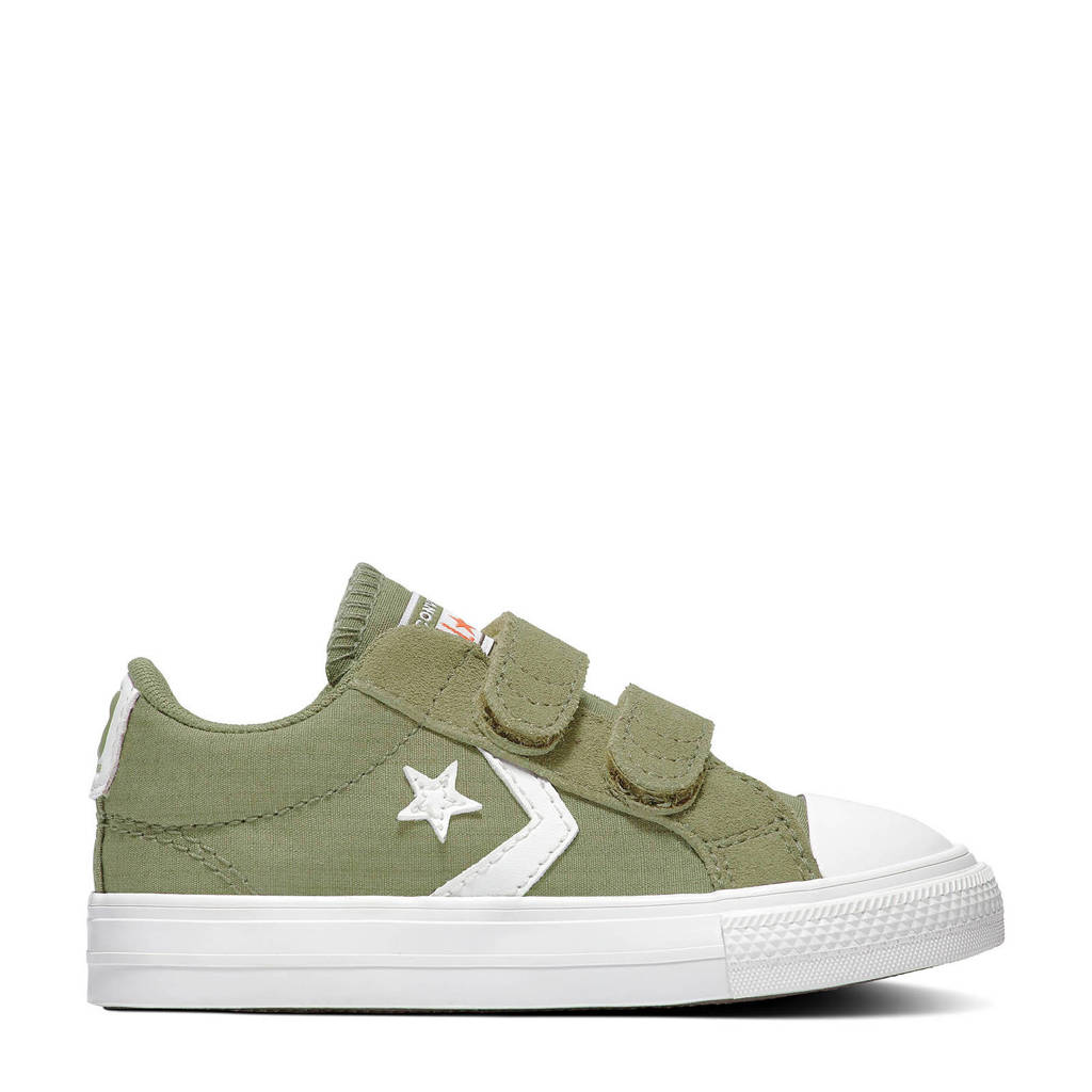 Converse Star Player 2V OX sneakers kaki/wit