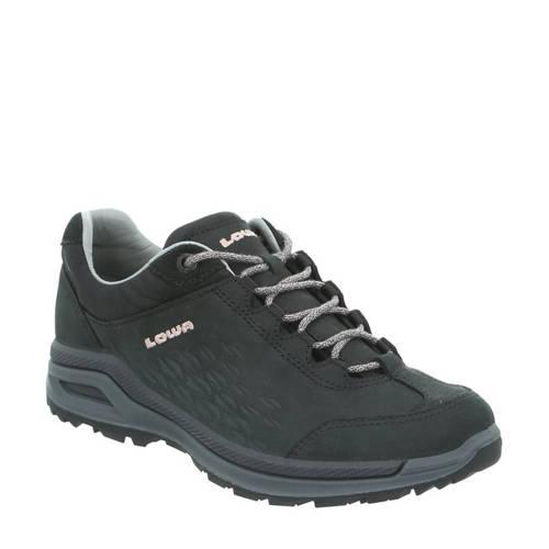 Lowa Strato EVO LL nubuck wandelschoenen zwart