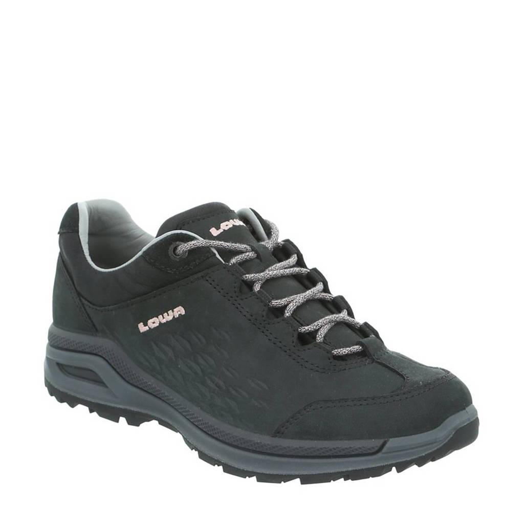 Lowa Strato EVO LL nubuck wandelschoenen zwart, Zwart