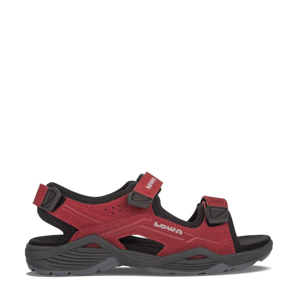 Lowa Duralto LE  outdoor sandalen rood, Rood