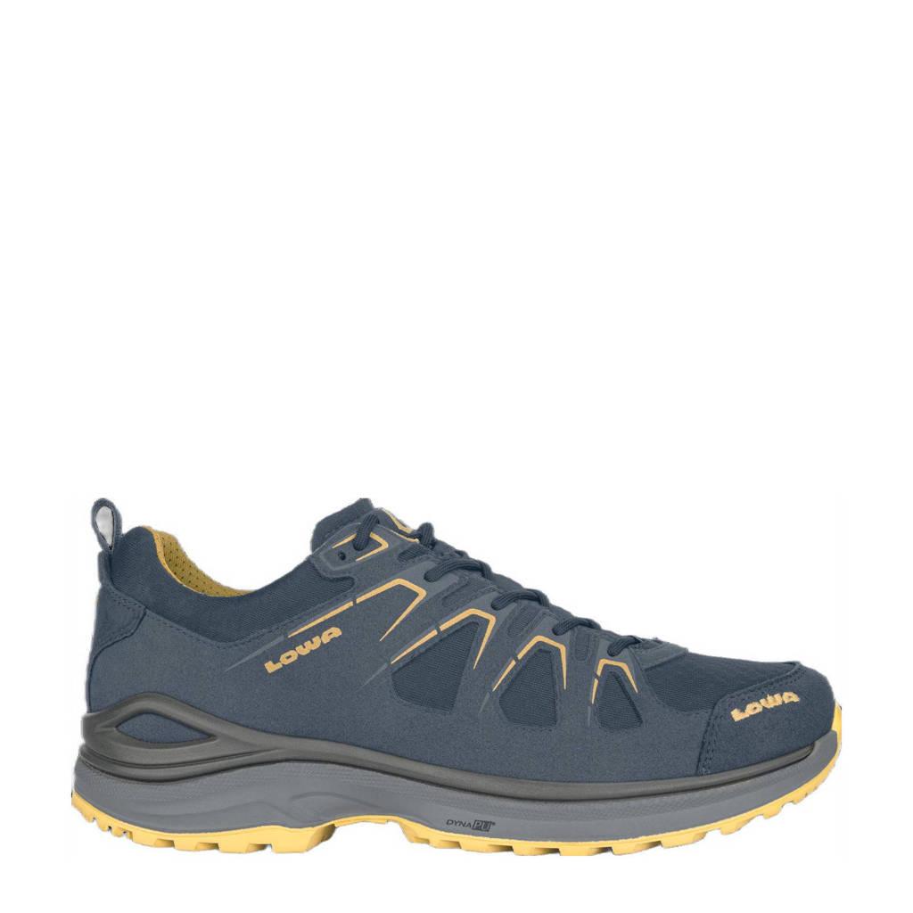 Lowa Innox Evo GTX  Lo wandelschoenen grijsblauw/geel, Steel-Blue/Mustard
