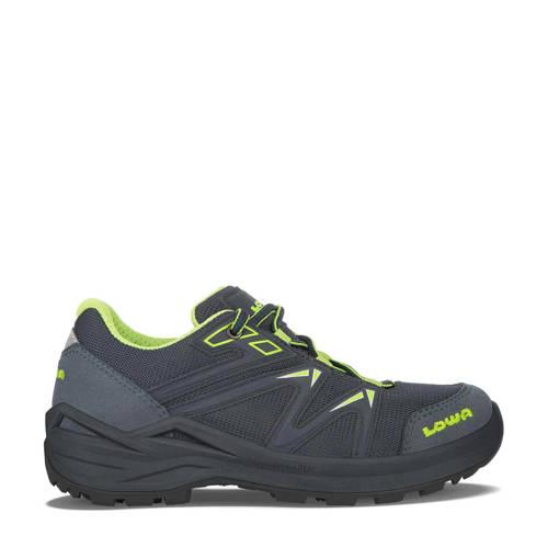Lowa Innox Pro GTX LO Lacing wandelschoenen grijsblauw/lime kids