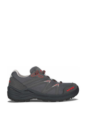 Innox Pro GTX LO Lacing wandelschoenen grijs/rood kids