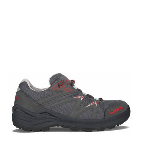 Lowa Innox Pro GTX LO Lacing wandelschoenen grijs/rood kids
