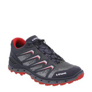 Aerox GTX  wandelschoenen antraciet/rood