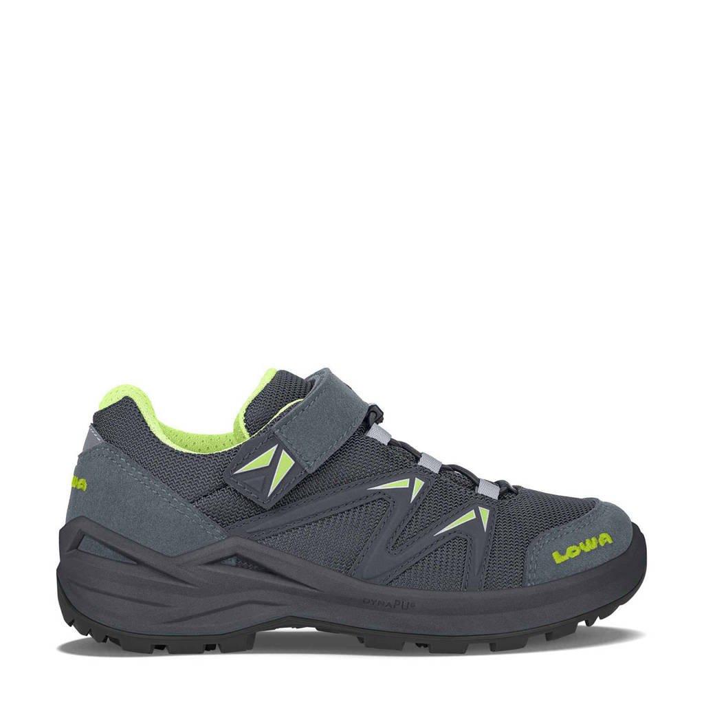 Lowa Innox Pro GTX Lo VRC wandelschoenen grijsblauw/lime kids, Steelblue/Lime