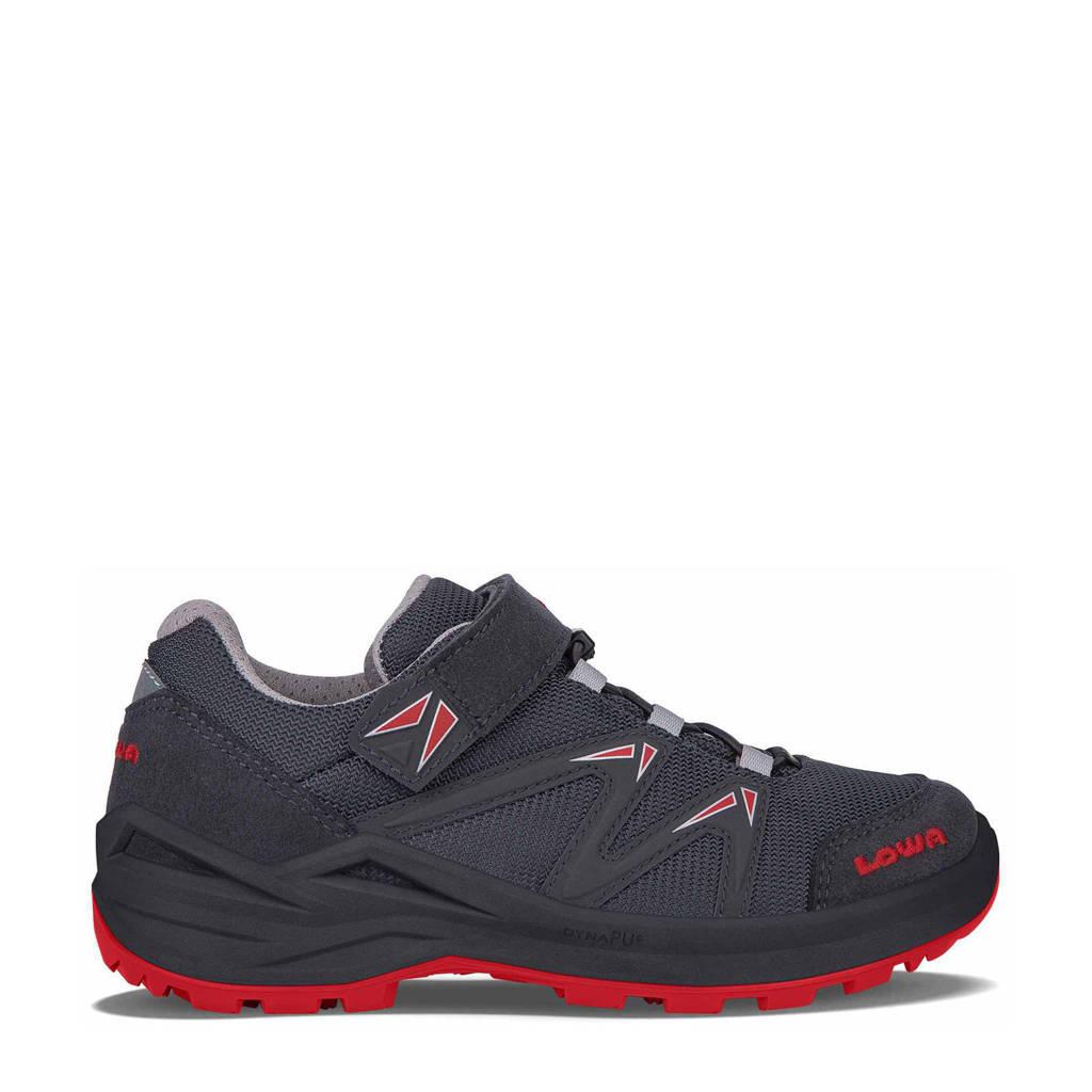 Lowa Innox Pro GTX Lo VRC wandelschoenen antraciet/rood kids, Graphite/Red