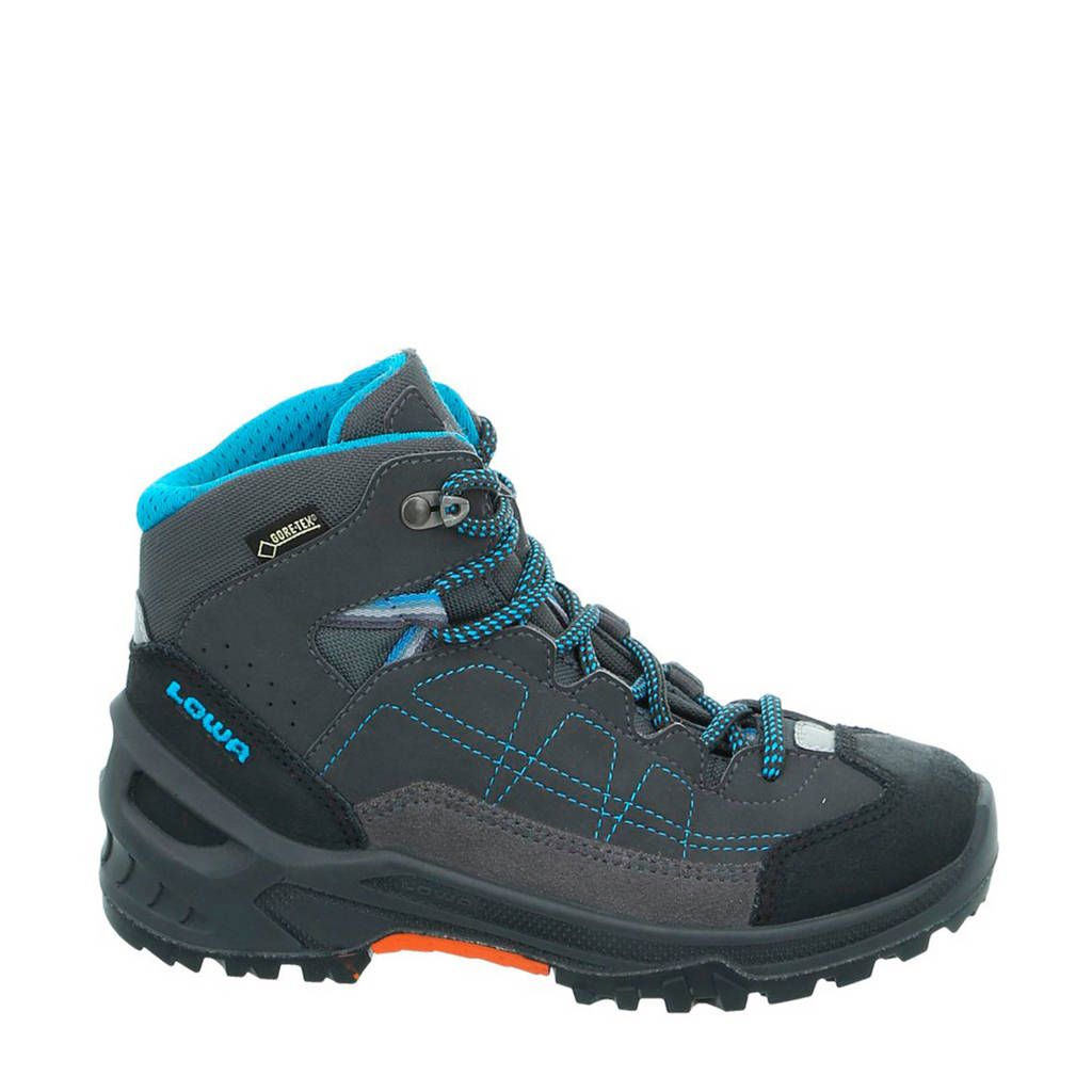 Lowa Approach GTX mid wandelschoenen antraciet/blauw kids, Anthracite/Turquoise
