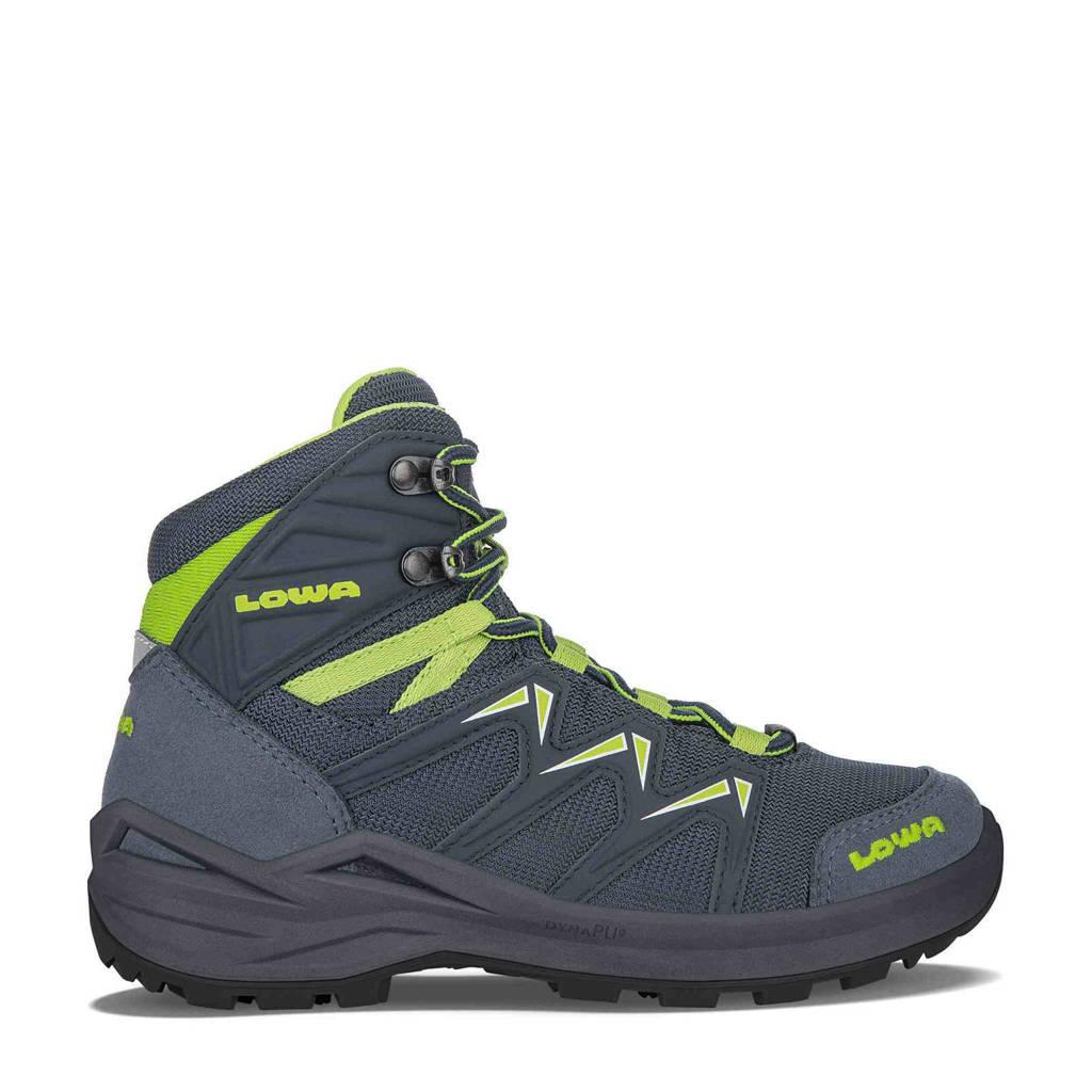 Lowa Innox Pro GTX wandelschoenen grijsblauw/lime kids, Steelblue/Lime