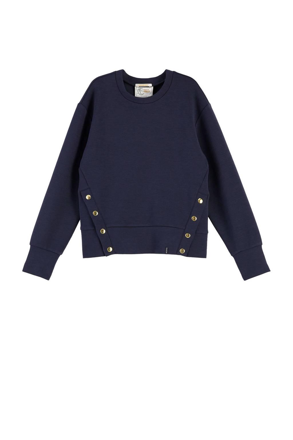 Scotch & Soda sweater donkerblauw, Donkerblauw