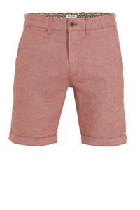 JACK & JONES JEANS INTELLIGENCE gemêleerde regular fit bermuda roze, Roze